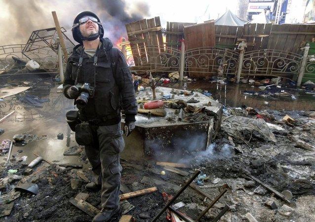 Andréi Stenin, periodista de Rossiya Segodnya, muerto en el este de Ucrania