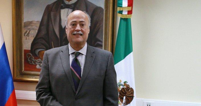 Rubén Beltrán, embajador del México en Rusia