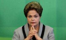 Exresidenta de Brasil, Dilma Rousseff