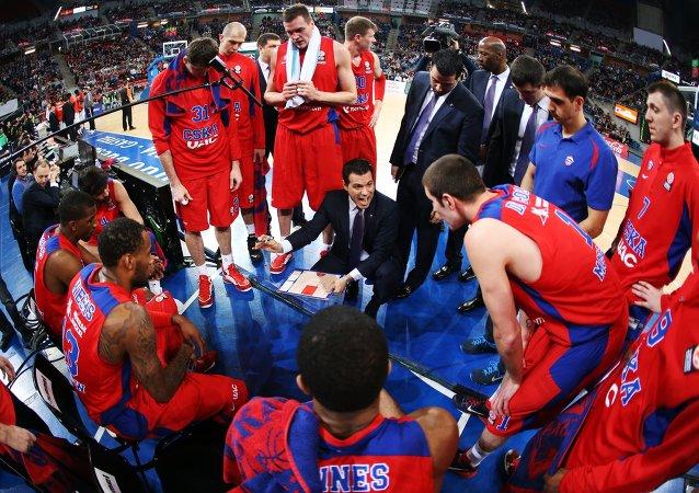 Jugadores de baloncesto de CSKA
