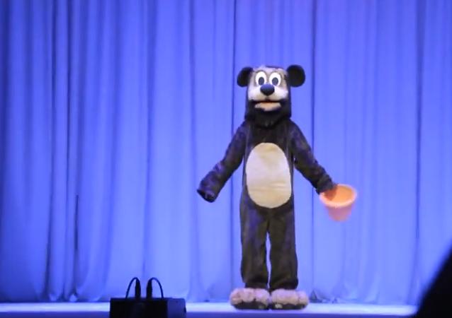 """Captura de imagen del vídeo con el número de baile """"Winnie the Pooh y las Abejas"""" (archivo)"""
