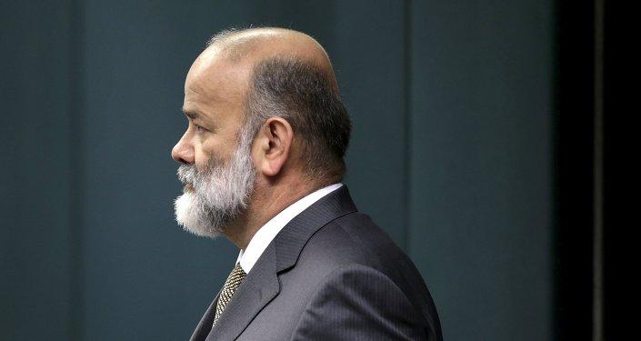 Joao Vaccari Neto, secretario de Finanzas del Partido de los Trabajadores de Brasil (PT)