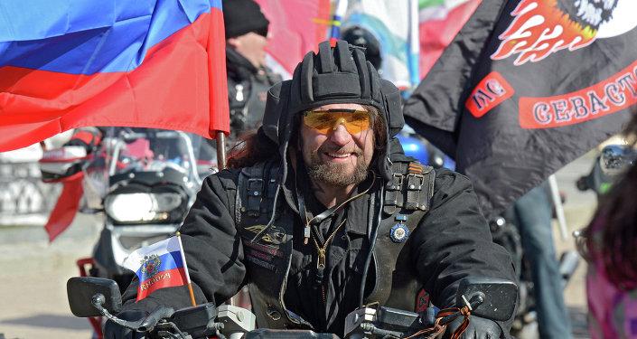 Alexandr Zaldostánov, alias El Cirujano, líder de Lobos Nocturnos