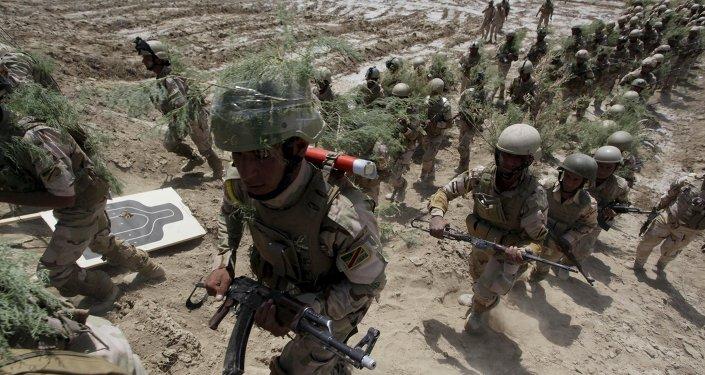 Fuerzas de seguridad iraquíes