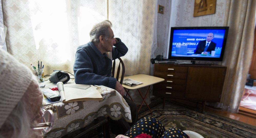 Línea directa con Vladímir Putin del año 2015