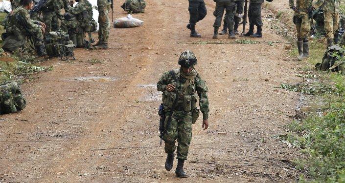Soldados colombianos (archivo)