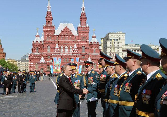 Día de Victoria en Moscú (archivo)