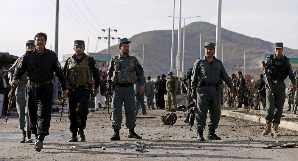 La policía en Afganistan (archivo)