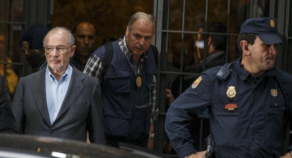 Rodrigo Rato, expresidente del Fondo Monetario Internacional (archivo)