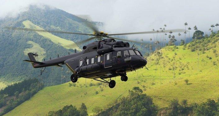 Helicóptero Mi-171A2 ruso (archivo)