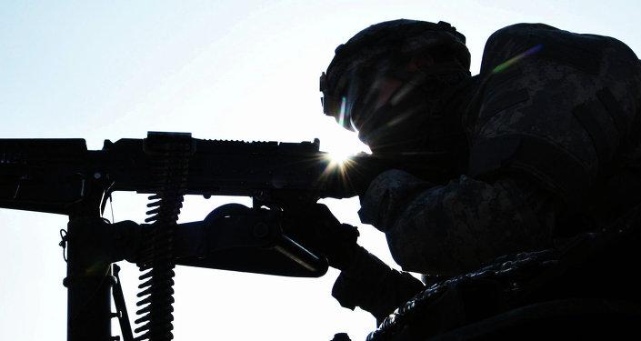 Paracaidista de la 173ª brigada del Ejército de EEUU (Archivo)