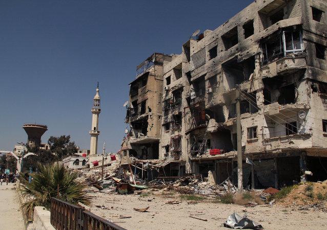 Campo de refugiados de Yarmuk