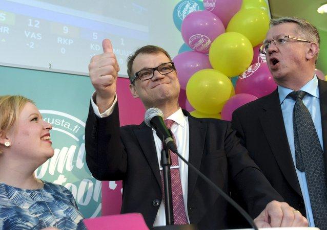 Juha Sipila, primer ministro de Finlandia