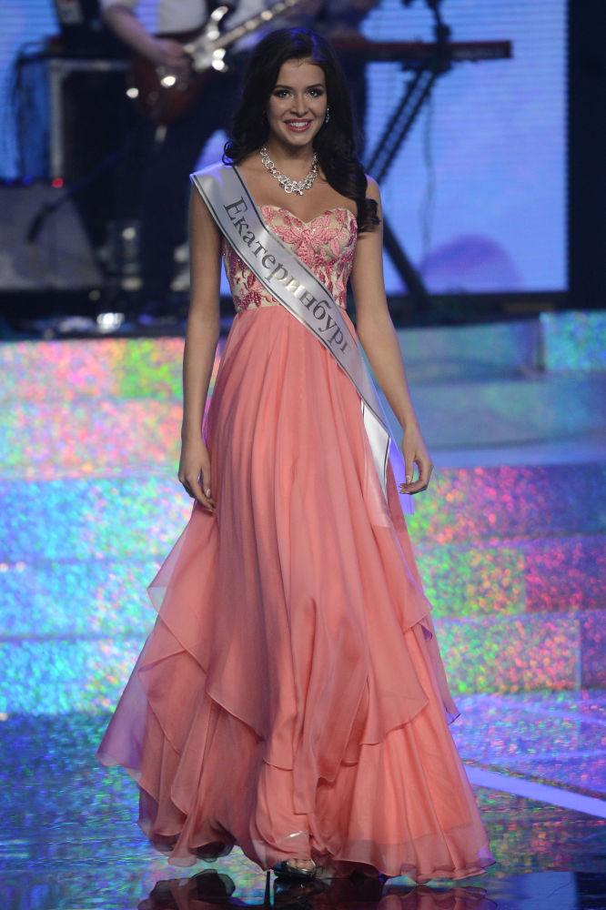 Sofía Nikitchuk representará a su país en el concurso Miss Mundo