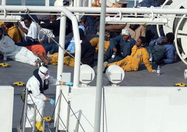 Inmigrantes ilegales en Malta