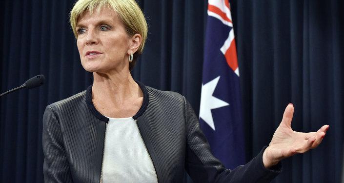 Julie Bishop, ministra de Exteriores de Australia