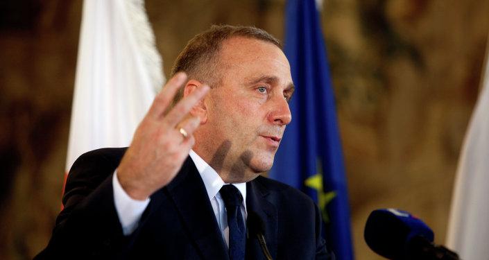 Grzegorz Schetyna, ministro de Exteriores de Polonia