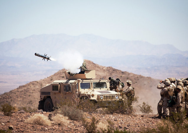 Sistema antitanque estadounidense Javelin