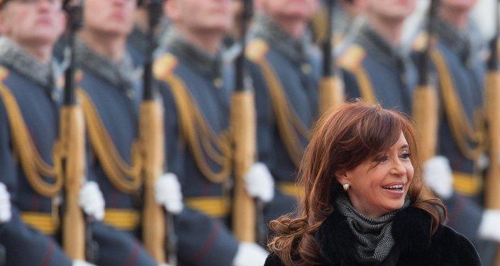 Cristina Fernádez de Kirchner, presidenta de Argentina