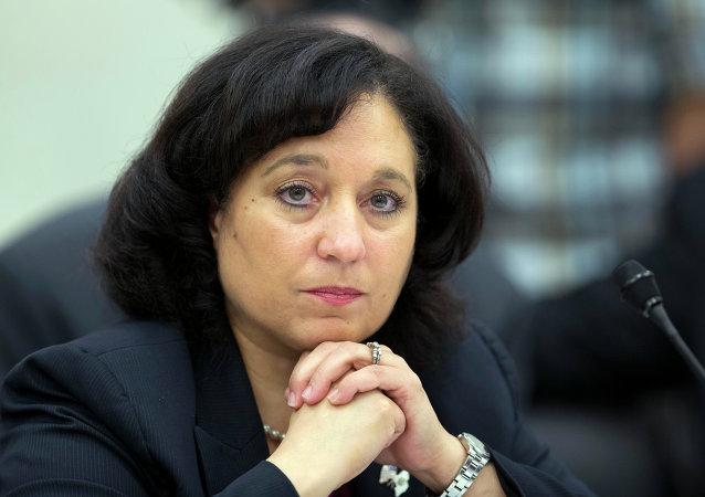 Michele Leonhart, directora de la Agencia Antidrogas de EEUU