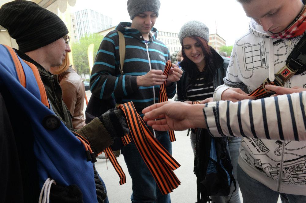 Велоквест в рамках акции Георгиевская ленточка