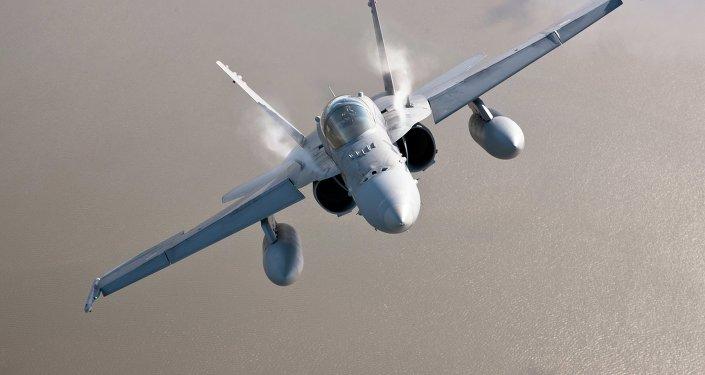 F-18 finlandés