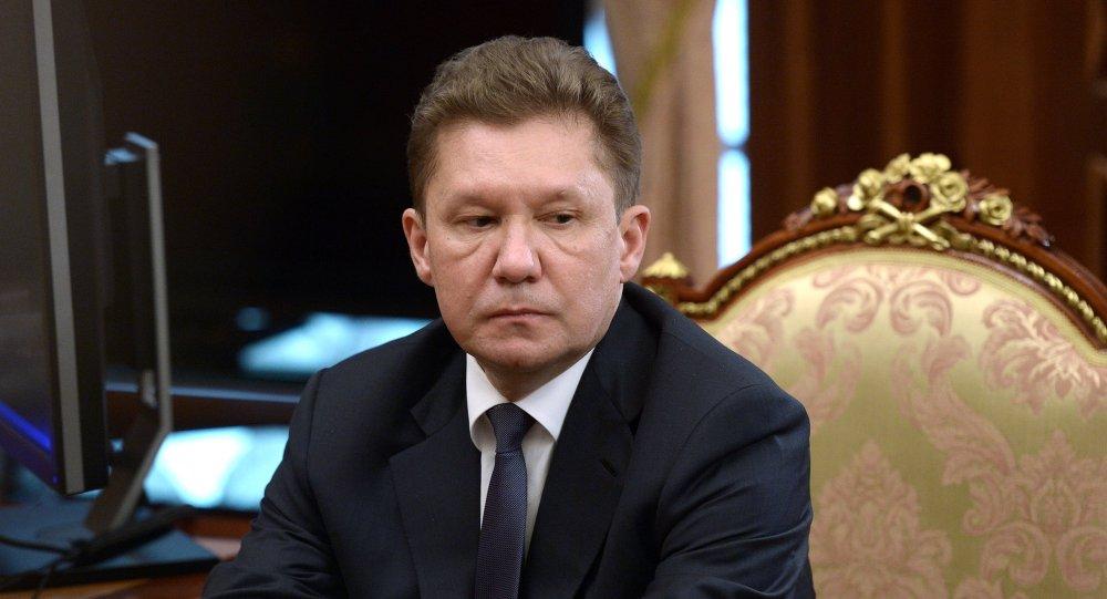 Alexéi Miller, presidente de Gazprom