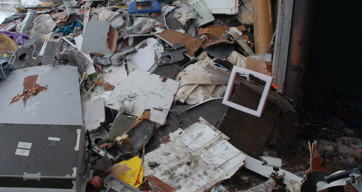 Fragmentos del Boeing 777 de Malaysia Airlines derribado en el este de Ucrania