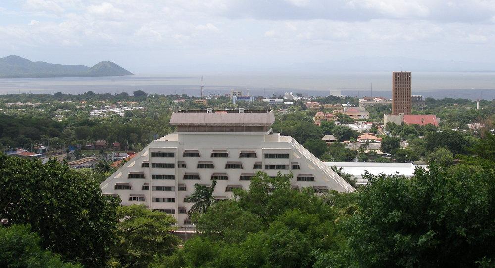Манагуа, столица Никарагуа