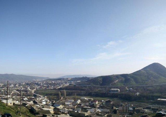 La vista de Karabudajkent