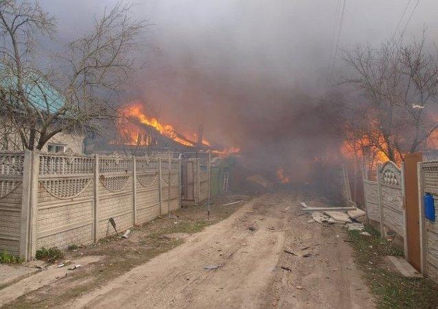 Explosiones en un almacén de pirotecnia en la ciudad rusa de Oriol