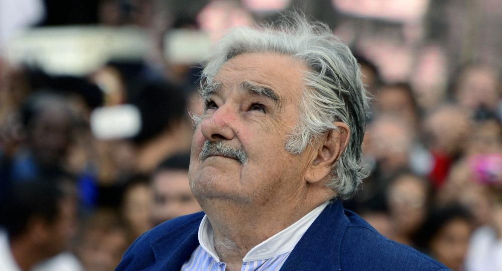 El presidente de Uruguay José Mujica