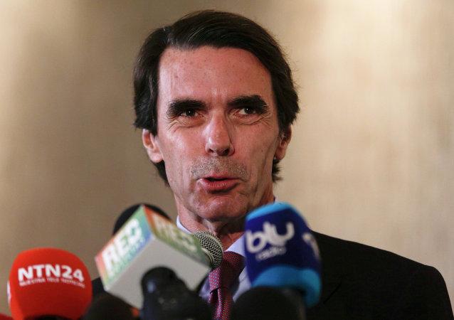 José María Aznar, expresidente de  España