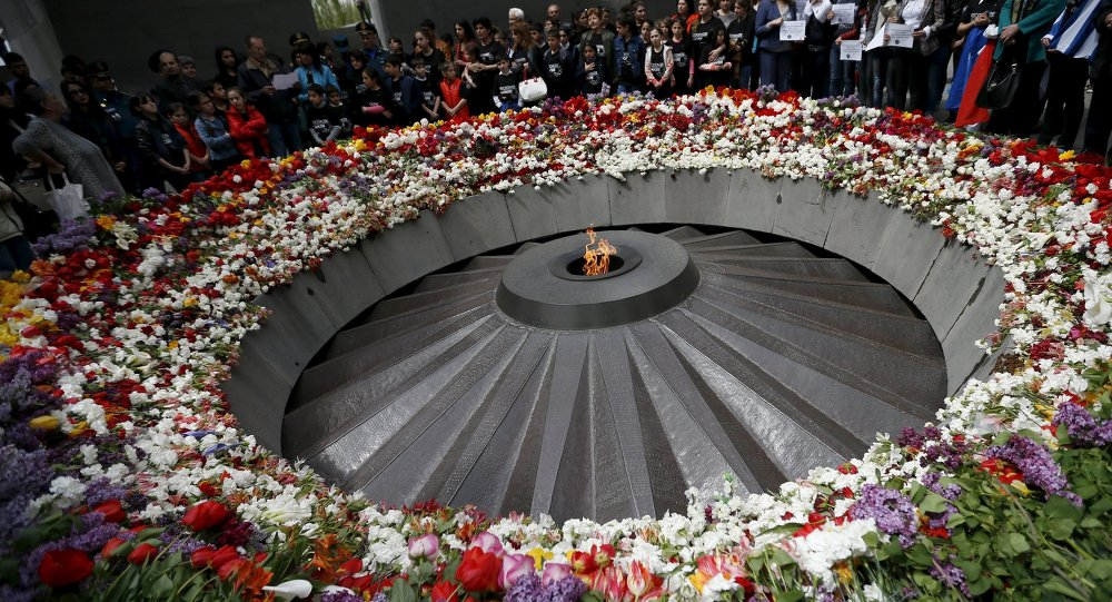 Museo de la memoria del genocidio en Ereván