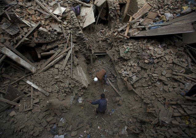 Consequencias del terremoto en Nepal