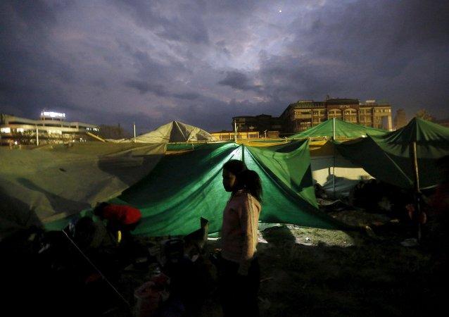 Situación en Nepal después del terremoto