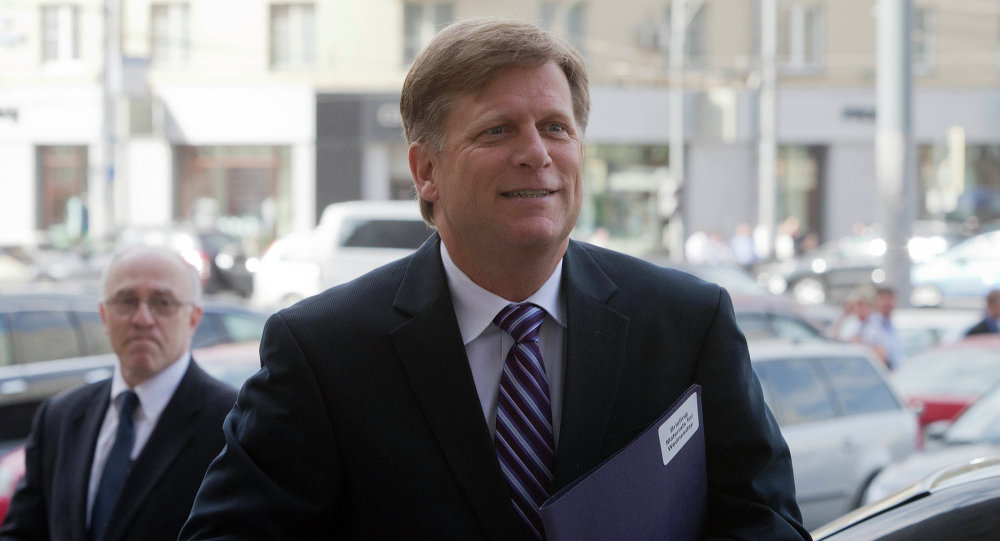 Ex embajador de Washington en Moscú, Michael McFaul, 2013