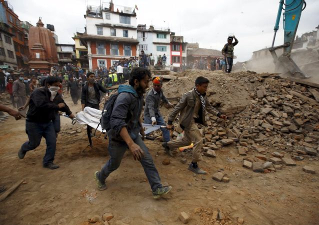 Katmandú tras el terremoto