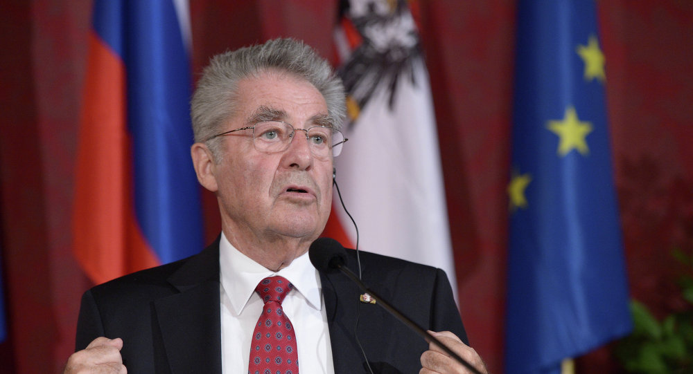 Heinz Fischer, presidente de Austria