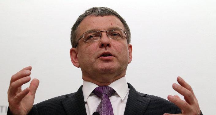 Lubomir Zaoralek, ministro de Asuntos Exteriores de la República Checa