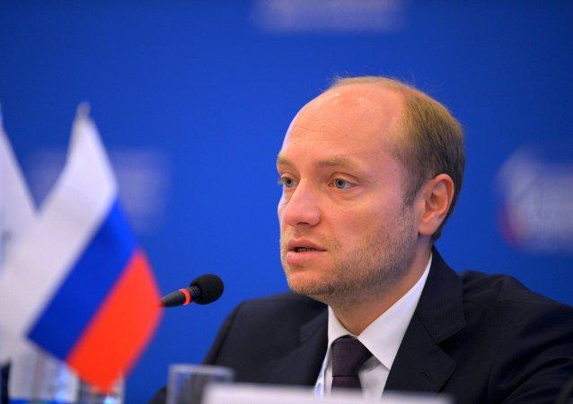 Alexandr Galushka, ministro para el Desarrollo del Lejano Oriente de Rusia