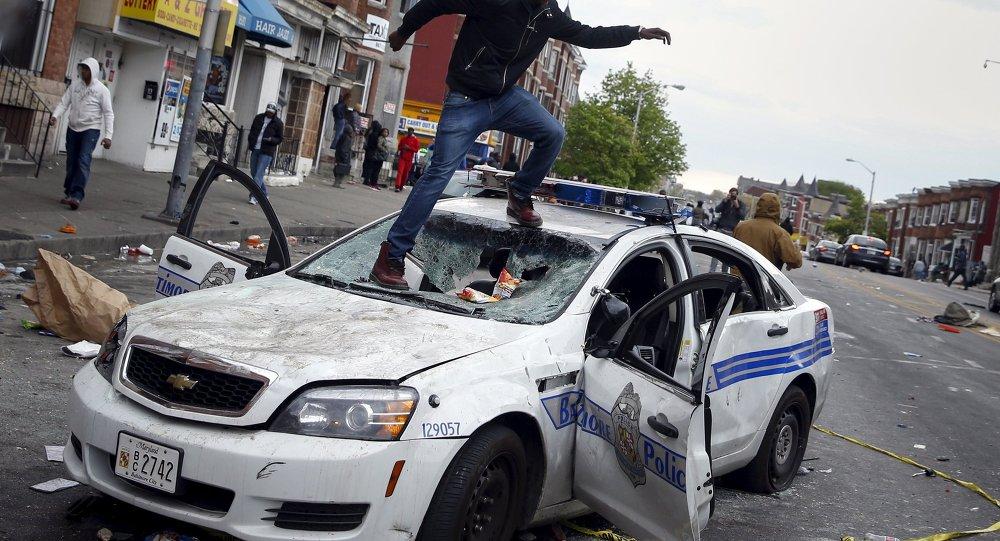 Protestas en Baltimore