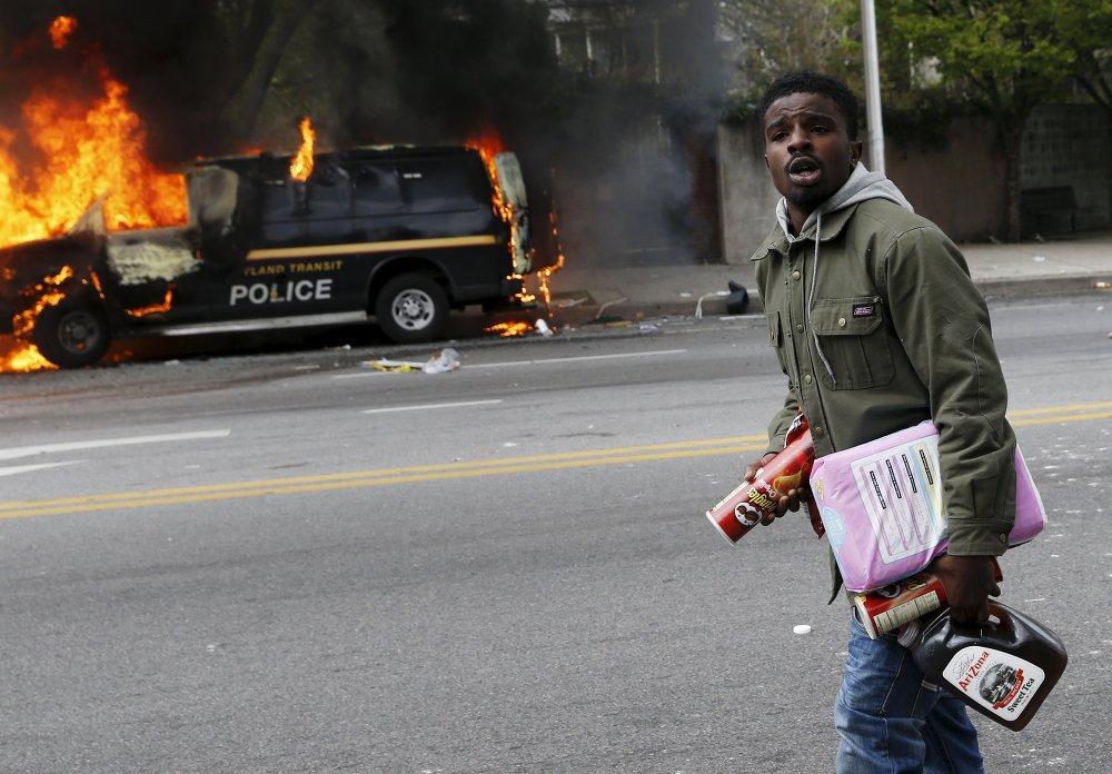 Disturbios en Baltimore