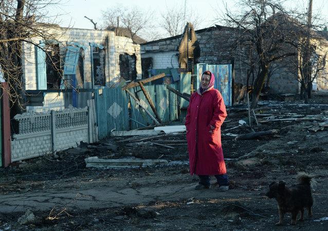 Situación en Debáltsevo, Ucrania