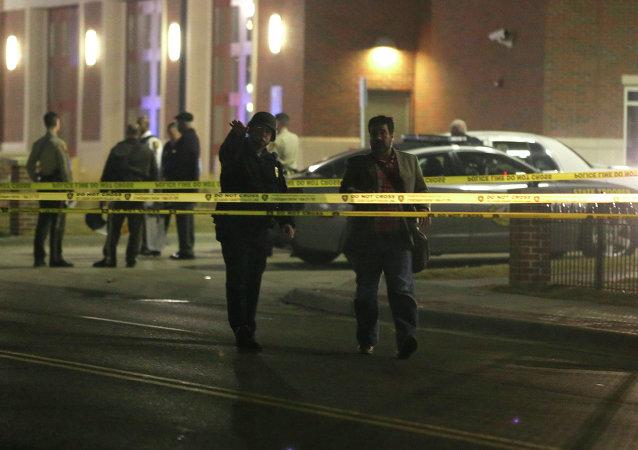Policía en Ferguson (archivo)
