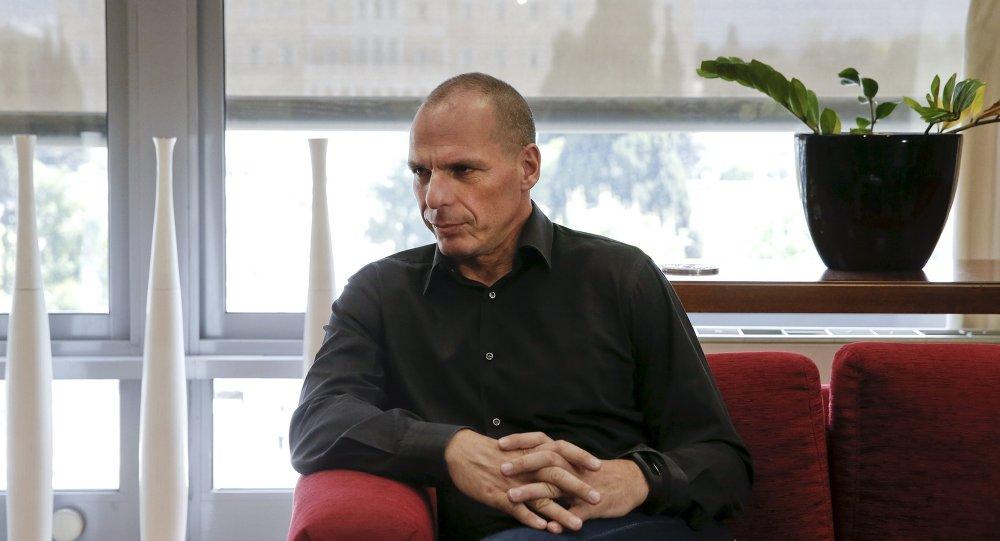 Yanis Varoufakis, ministro de Finanzas de Grecia