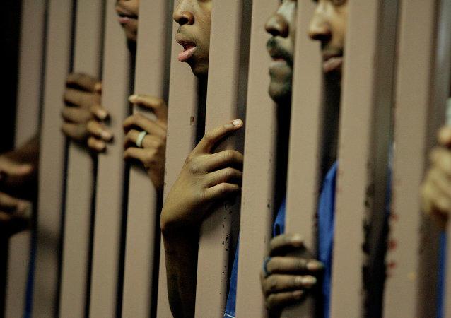 Prisioneros de una cárcel