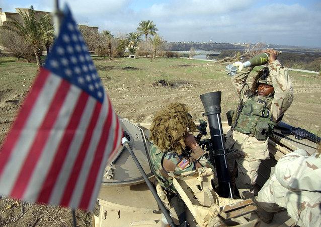 Militares estadounidenses en Irak, 2003