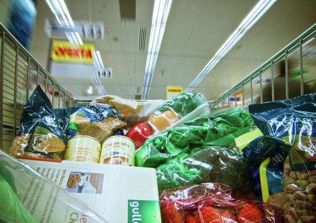 Un supermercado en Madrid