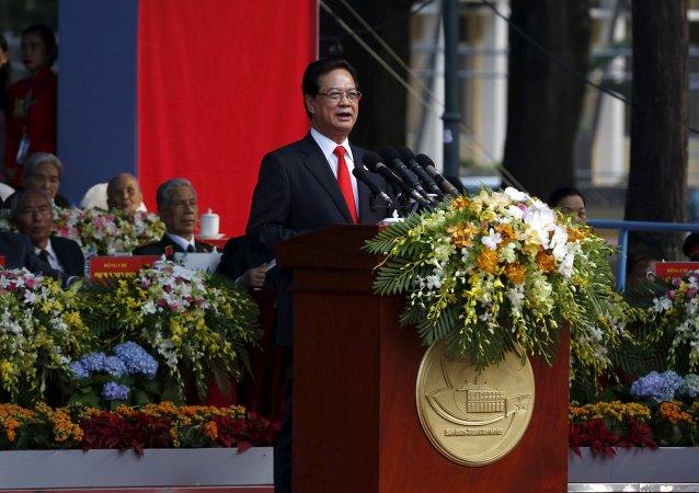 Nguyen Tan Dung, primer ministro de Vietnam